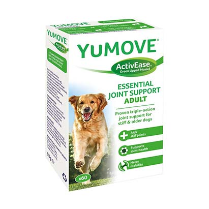 JANUÁR HÓNAP TERMÉKE –  YuMOVE Dog – 60 db tabletta – Ízületvédő kutyáknak