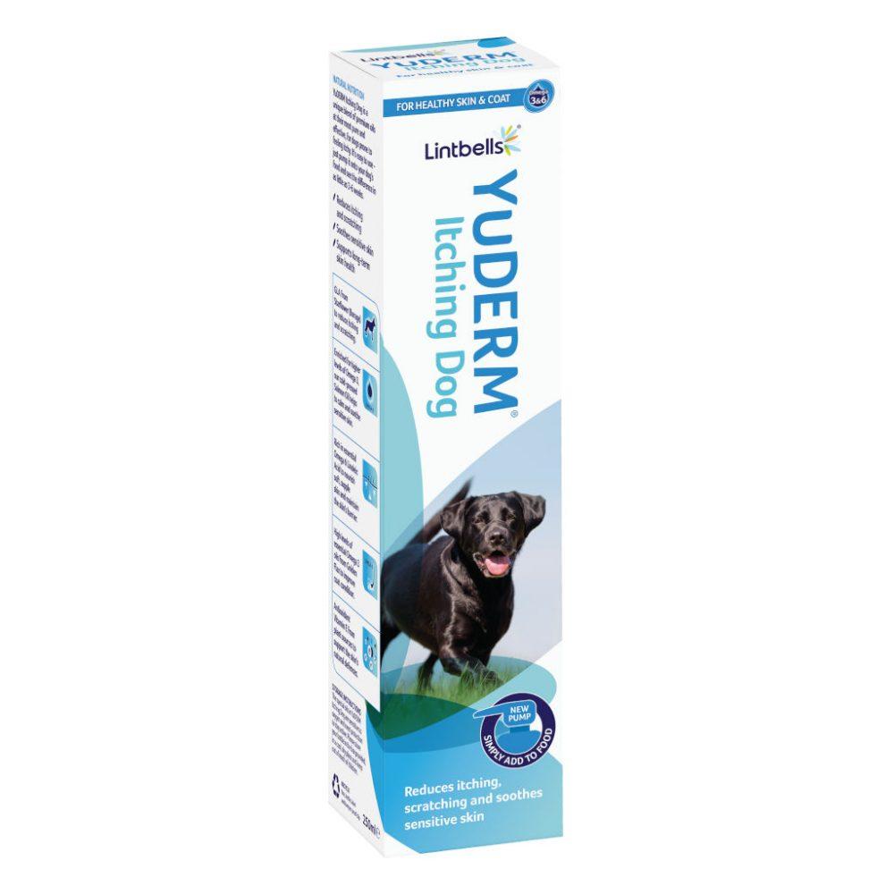 YuDERM Itchying Dog 250 ml – Szőr- és bőrápolás allergiás kutyáknak