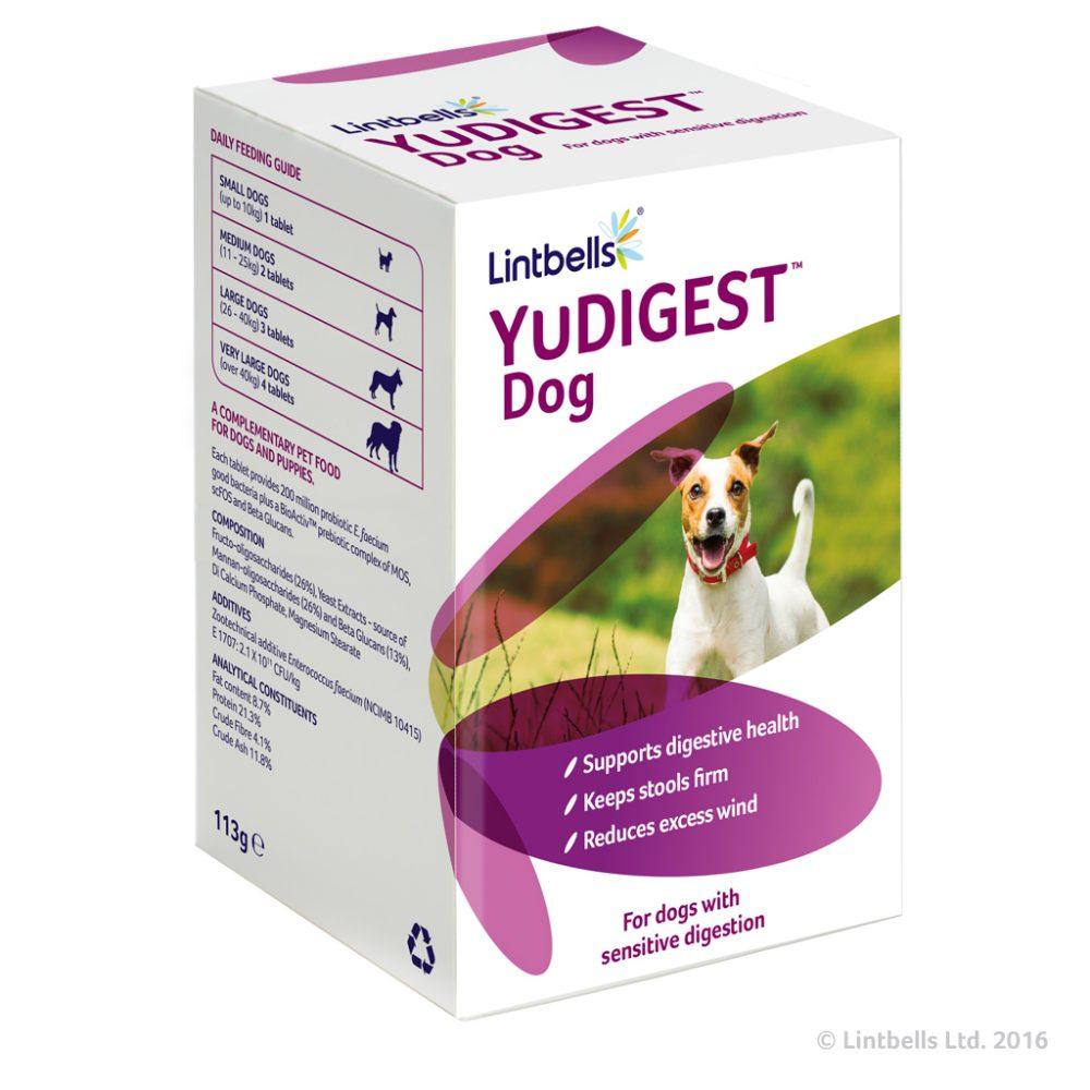 Yudigest tabletta – Egészséges emésztésért pro- és prebiotikum tabletta kutyáknak