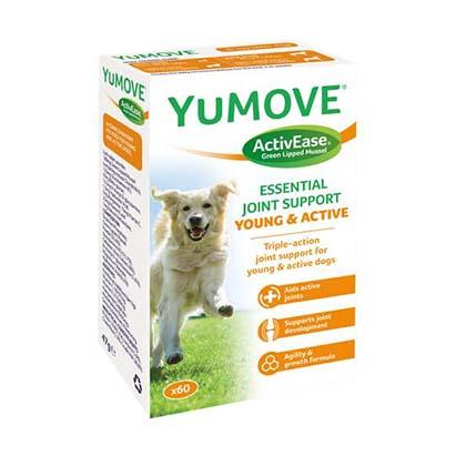 YuMOVE Young and Active tabletta – 60 db – Porcerősítő, ízületvédő fiatal és aktív kutyáknak