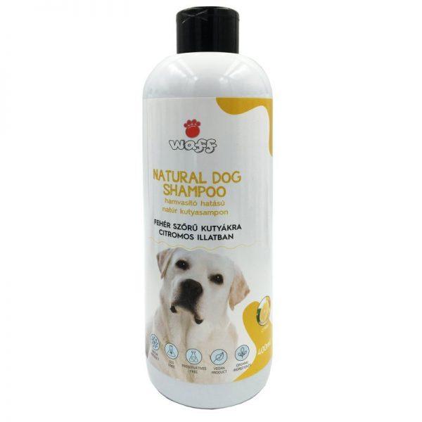 Kutyasampon fehér szőrre