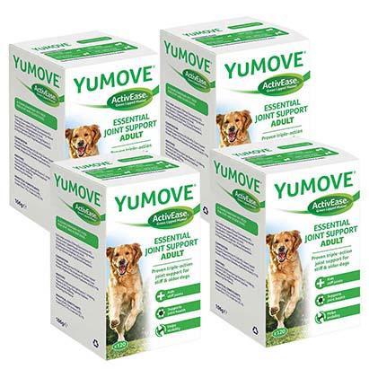 YuMOVE Dog 120 – 4 az egyben csomag – Ízületvédő kutyáknak