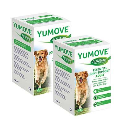 YuMOVE Dog 120 – 2 az egyben csomag – Ízületvédő kutyáknak