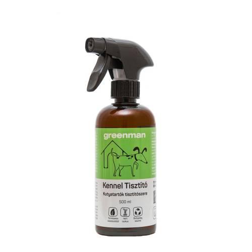 Greeman kennel és kutyafekhely szagtalanító spray 500ml – probiotikus baktériumflórával
