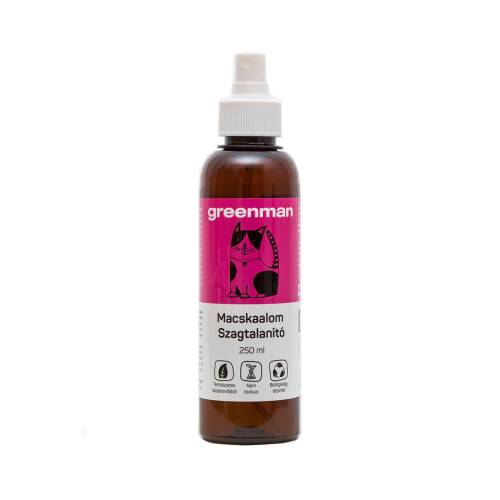 Greeman macskaalom szagtalanító spray 250 ml – probiotikus baktériumflórával