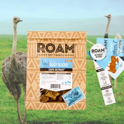 ROAM – 100% strucc jutalomfalat allergiás kutyáknak – fagyasztva szárított