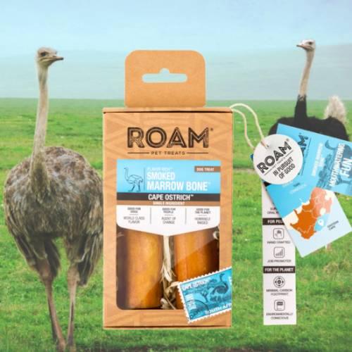 ROAM – 100% strucc lábszárcsont rágóka kutyáknak, füstölt (2db)