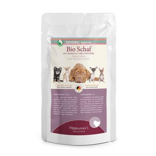 Bárányhús menü érzékeny emésztésű kutyáknak – bio mangold, bio petrezselyem 150 gr