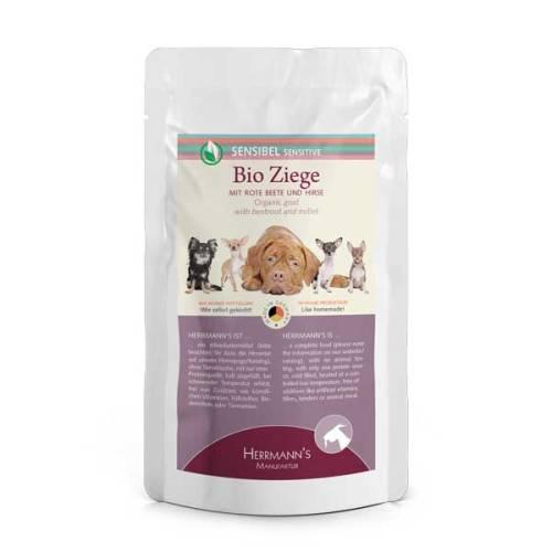 Kecskehús menü érzékeny emésztésű kutyáknak – bio cékla, bio sütőtök 150 gr