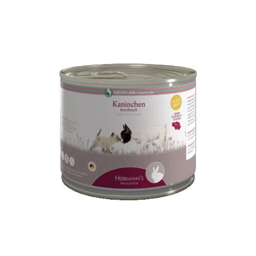 100% nyúlhús monoprotein kizárásos diétához kutyáknak és macskáknak 200gr