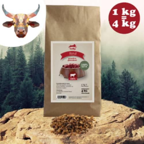 100% szárított színhús monoprotein – marhahús 200gr/1kg, Leiky
