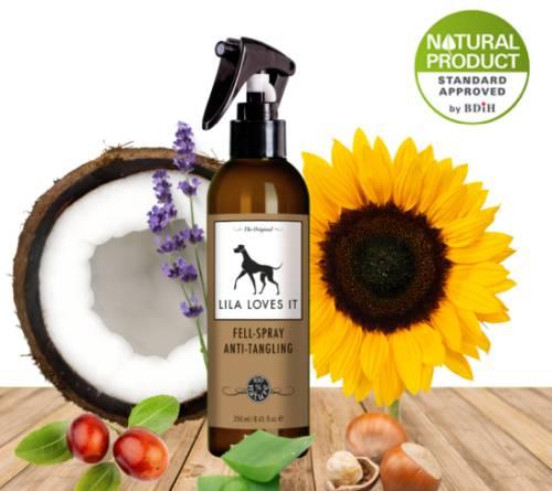 Bio szőrbontó spray kutyáknak 250 ml, Lila Loves It