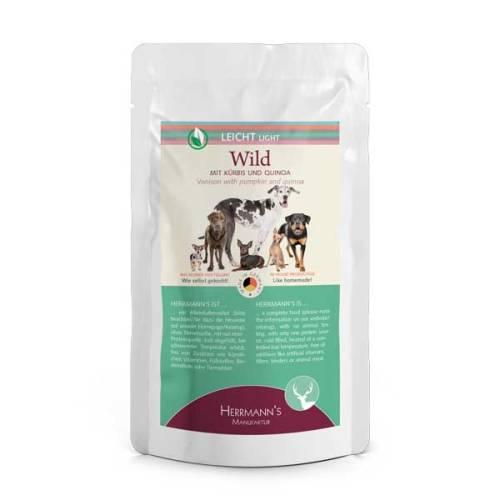 Vadhús menü érzékeny emésztésű kutyáknak – bio sütőtök, bio vörösáfonya 150 gr